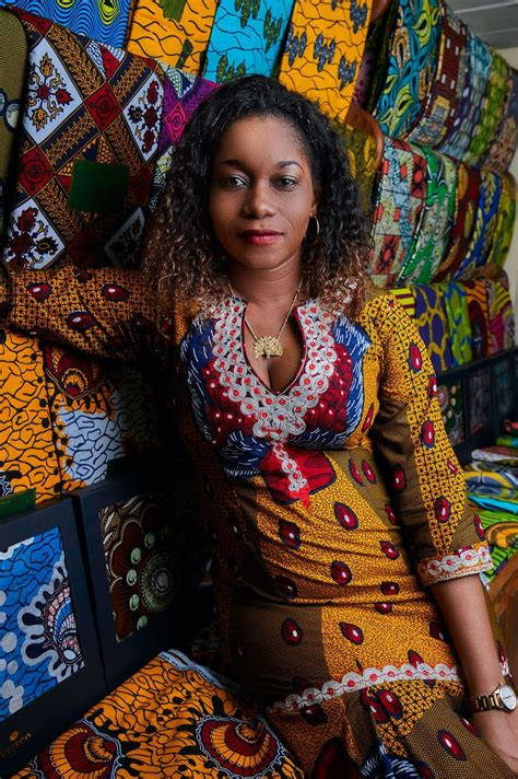 ivorian traders vlisco african fabrics campaigns