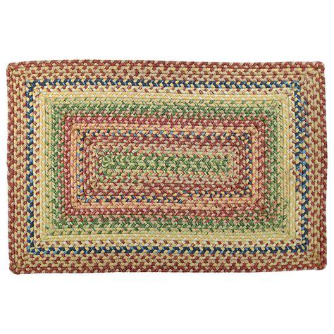 washable area rugs venetian glass ultra durable washable braided area rug