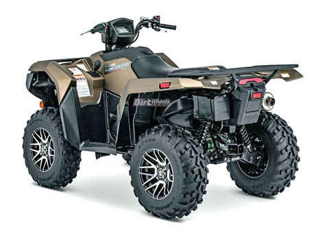 Suzuki Kingquad by 2019 Suzuki Kingquad 750axi Dirt Wheels Magazine