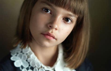 Обои портрет, девочка, прелесть, кареглазая, Alexander