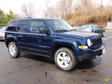 blue jeep patriot 2012 true blue pearl jeep patriot sport 4x4 62097709