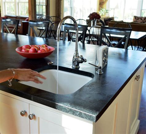 kitchen sink materials pros and cons all about soapstone countertops countertop spotlight