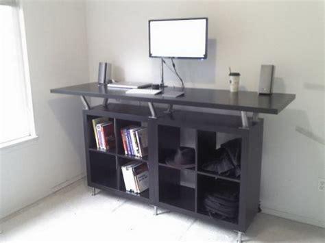 Ikea Computer Desk Hack by 20 Cool And Budget Ikea Desk Hacks Hative
