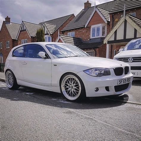 Modified White Bmw 3 Series by Bmw 1 Series M Sport 3 Door White Petrol Manual Tastefully