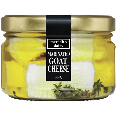 does goat cheese lactose woolworths meredith dairy marinated goat cheese jar compare club