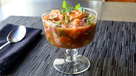 mexican style shrimp cocktail     mexican