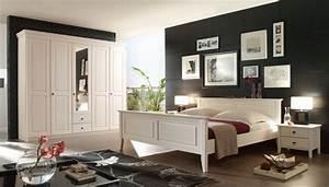 Erle Schlafzimmer Gunstig Mobel Weiss Florenz Antik Massiv
