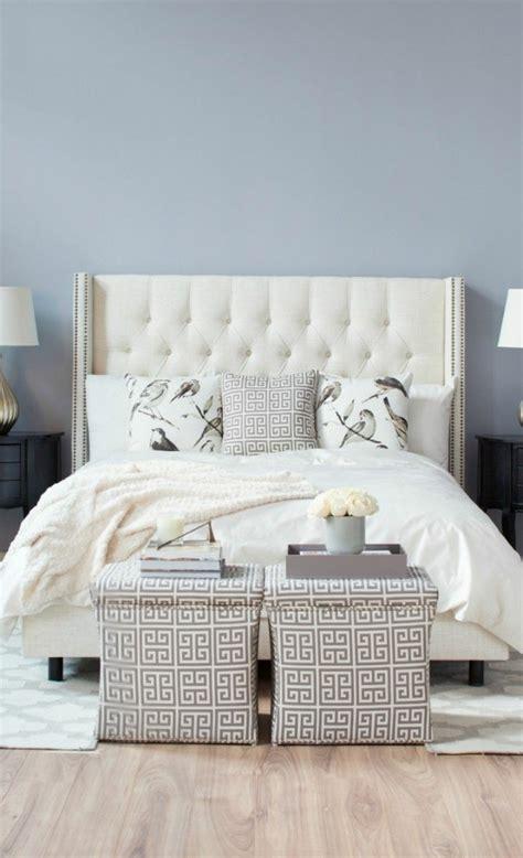 chambre lit blanc les meilleures variantes de lit capitonné dans 43 images
