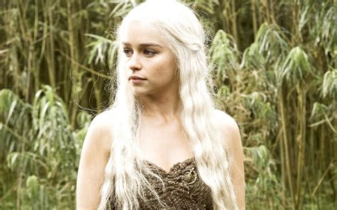 Emilia Clarke In Hbo Game Of Thrones Wallpapers