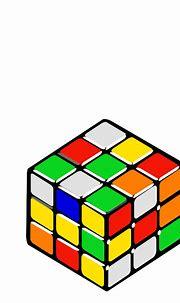 Rubik S Cube Random Clip Art at Clker.com - vector clip ...