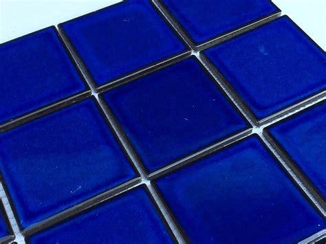 cobalt blue tile mosaic tile for walls floor backsplash