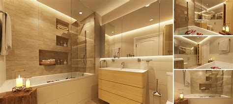 model master bathroom cgtrader