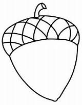 Acorn Coloring Acorns Clipart Pages Fall Printable Drawing Template Clip Sheets Crafts Preschool Cliparts Colouring Sheet Clipartpanda Onlycoloringpages Difficult Adult sketch template