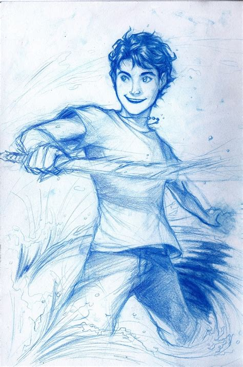percy jackson fan art percy jackson drawings pinterest