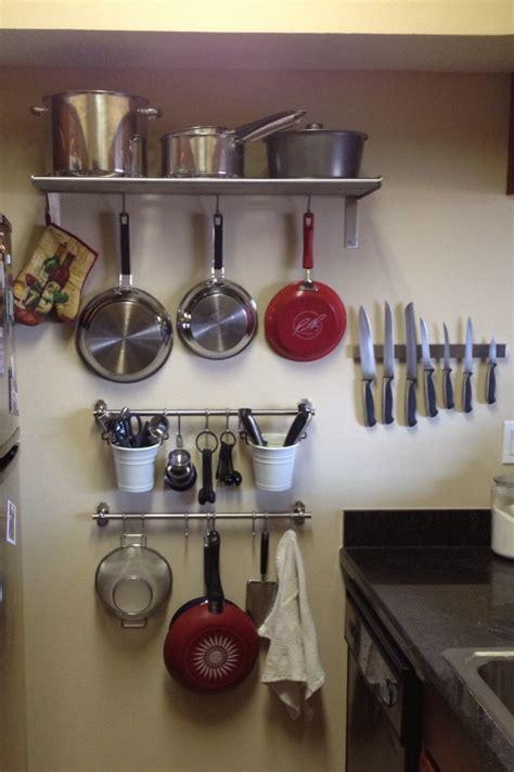 kitchen wall organization ideas ikea kitchen wall storage d 39 s small apt ideas