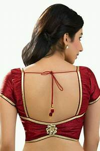 Dhoti Saree Design Latest Blouse Back Neck Designs Photos Pics Images Saree