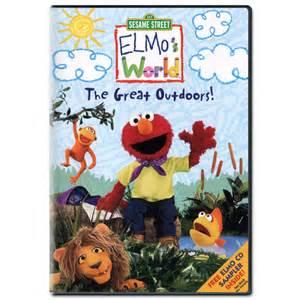 Sesame Street Elmo World The Great Outdoors DVD