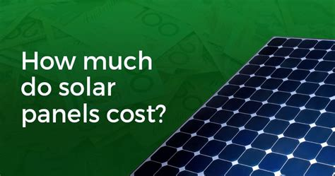 How Much Do Cost by Solar Panel Price Trend