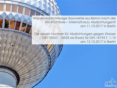 Wu Bauwerke Aus Beton by 11 12 Oktober 2017 Fort Und Weiterbildung Im Aiv Mit