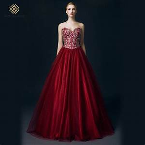 aliexpresscom buy wayer real picture romantic burgundy With burgundy wedding dresses gowns new