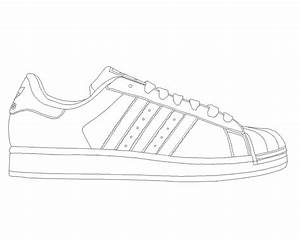 Timberland boots free coloring pages for Adidas shoe template