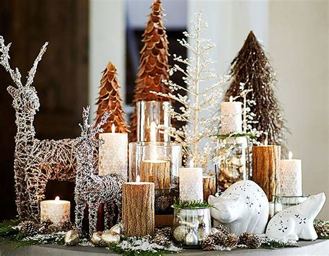 potterybarn luxe lodge christmas pinterest home decor
