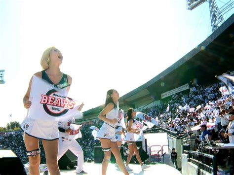 south korean baseballs elaborate cheer