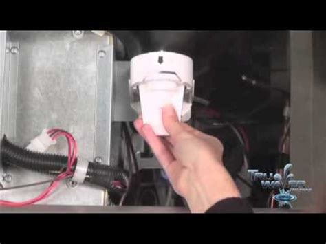 replace  ge mwf smartwater fridge water filter youtube