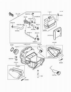 Kawasaki Ex500-a6 Parts List And Diagram