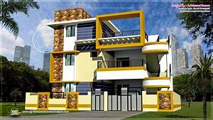 Modern 3 Floor Tamilnadu House Design Kerala Home Design