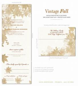 Send n sealed wedding invitations on 100 recycled paper for All in one wedding invitations recycled