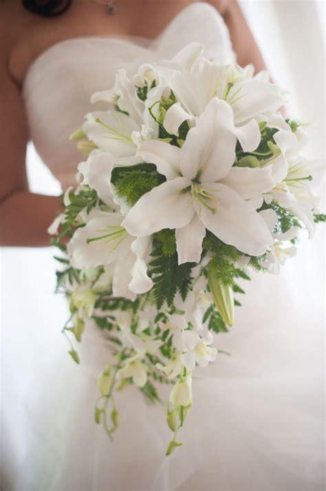 white wedding flowers  casablanca lilies google