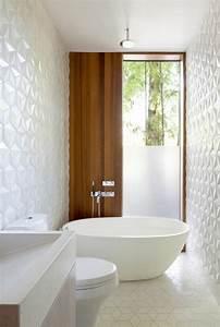 Carrelage Salle De Bain Blanc : le carrelage mural en 50 variantes pour vos murs ~ Melissatoandfro.com Idées de Décoration