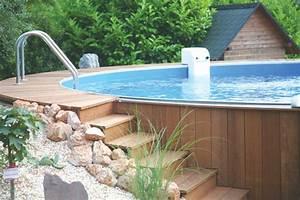 Holz Zum Bauen : poolumrandung holz rund selber bauen ~ Lizthompson.info Haus und Dekorationen