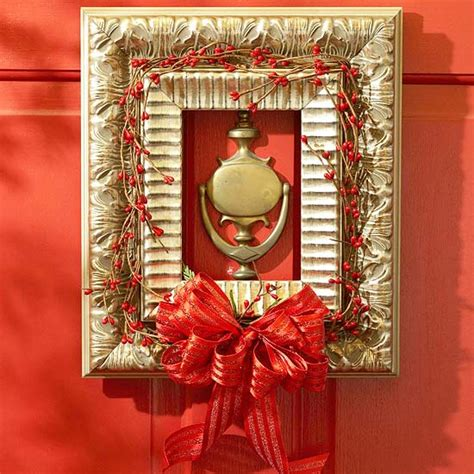 20 creative christmas front door decorations