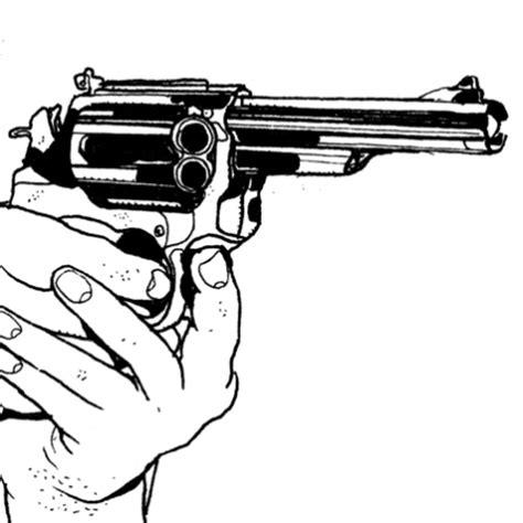 fournitures bureau stickers interrupteur dessin pistolet en stickers malin