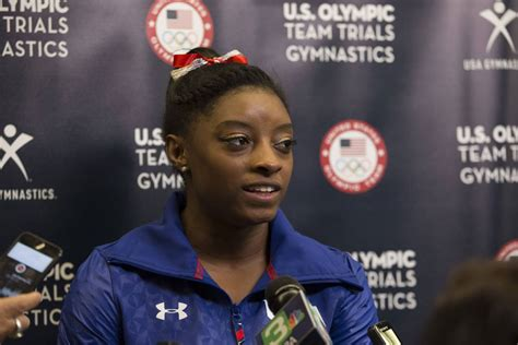 Simone Biles Mother and Father