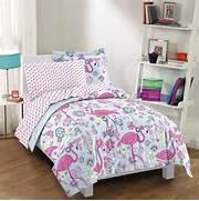Pink Bedroom Set by Pink Flamingo Comforter Set Tropical Decor