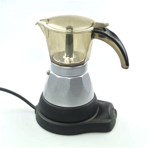 popular electric moka pot buy cheap electric moka pot lots from china electric moka pot