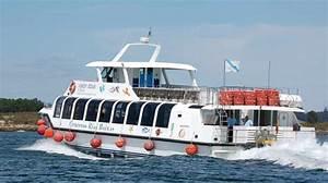 Rutas en barco por la ría de Arosa