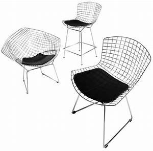 Bertoia Diamond Chair : designapplause bertoia diamond lounge chair harry bertoia ~ A.2002-acura-tl-radio.info Haus und Dekorationen