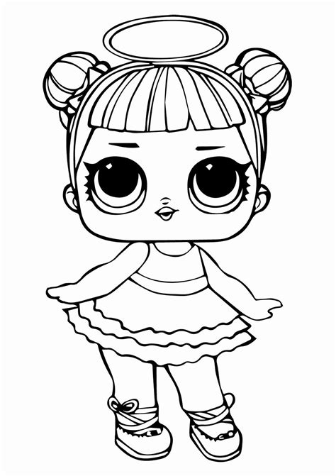 Lol Doll Printable Coloring Pages Fresh Lol Surprise Dolls