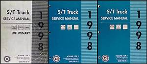 1998 St 4x4 Transfer Case Overhaul Manual S10 Pickup