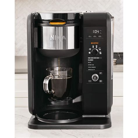 You can choose between four different brew sizes for your drink Ninja Auto iQ Intelligent Hot/Cold Brew Tea and Coffee Maker w/ Built In Frother 622356553957   eBay