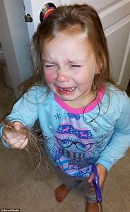 Parents share funny photos of kids who cut their own hair ...