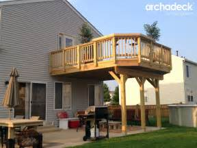 deck design ideas by archadeck of chicagoland outdoor
