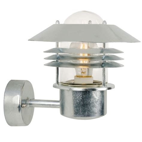 nordlux bulkhead outdoor wall light nordlux vejers up outdoor wall light galvanised steel