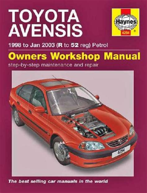 what is the best auto repair manual 1998 isuzu trooper electronic toll collection toyota avensis 1998 2003 haynes service repair manual sagin workshop car manuals repair books