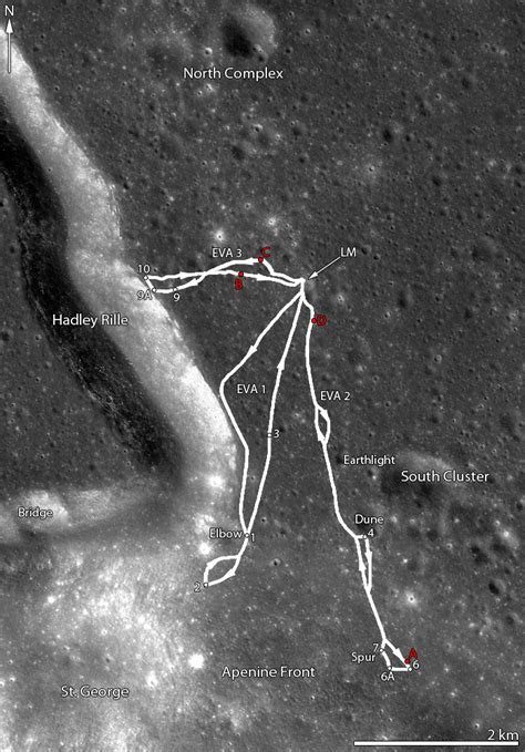 Look, It's A Moon Buggy! Lro's Best Look Ever At The Apollo 15 Landing Site  Universe Today