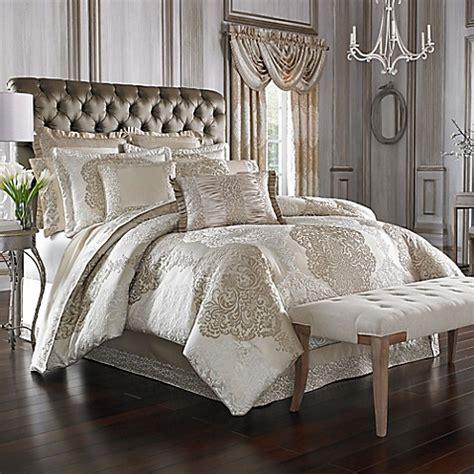 queen  york la scala comforter set bed bath